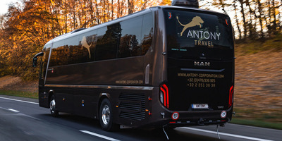 Antony Corporation - Man Lion's Coach